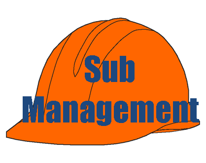Subcontract management links Find subcontractors